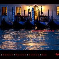 Kalender Venedig 2014 April