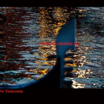 Kalender Venedig 2014 Deckblatt