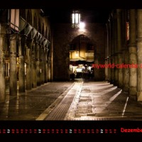 Kalender Venedig 2014 Dezember