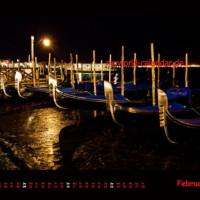 Kalender Venedig 2014 Februar