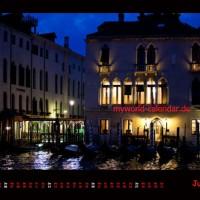 Kalender Venedig 2014 Juli