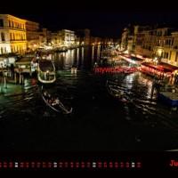 Kalender Venedig 2014 Juni