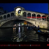 Kalender Venedig 2014 Mai