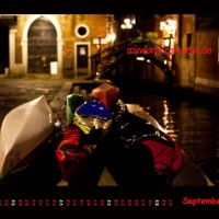 Kalender Venedig 2014 September