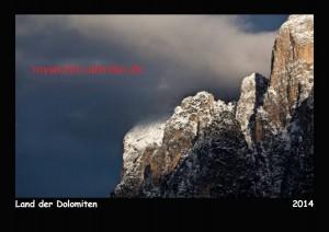 Kalender Dolomiten 2014 Deckblatt