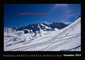 Kalender Dolomiten 2014 Dezember