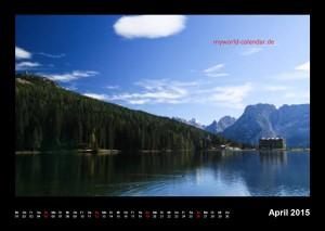 Kalender Dolomiten 2015 April