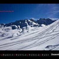 Kalender Dolomiten 2015 Dezember