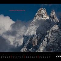 Kalender Dolomiten 2015 Januar