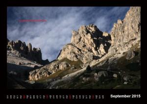 Kalender Dolomiten 2015 September