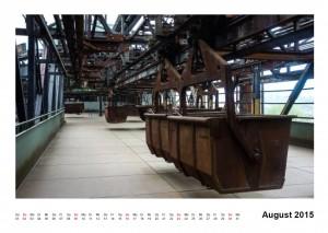Kalender Völklinger Hütte 2015 August
