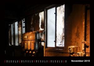 Kalender Völklinger Hütte 2015 November