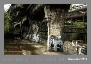 Kalender Völklinger Hütte 2015 September