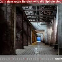 Kalender Völklinger Hütte 2016 Dezember